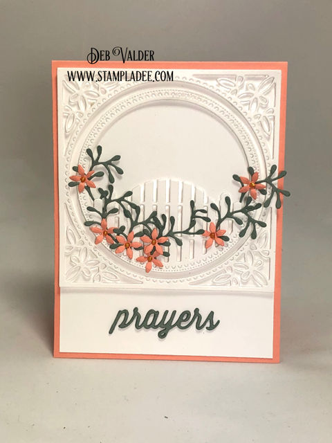 Prayers for you using Cottage Gate Frame