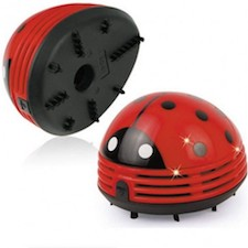 Ladybug Vacuum is for cleaning small messes.