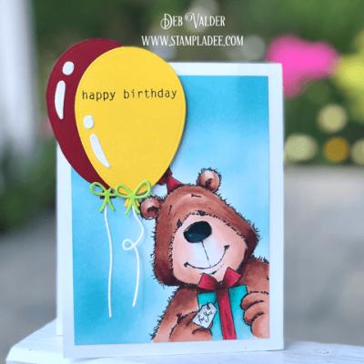 Balloon Bear Cuteness with Deb Valder