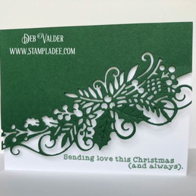 Let's Get Edgy – Holiday Edgers with Deb Valder