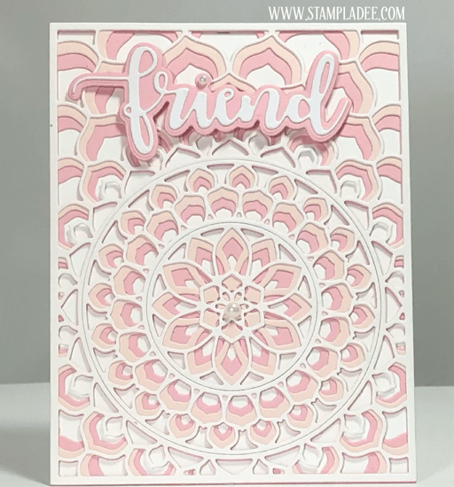 Kaleidoscope Cards combo die set can be found in our Teaspoon of Fun Shoppe.
