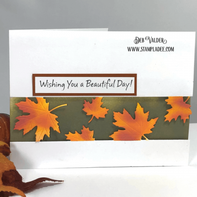 Tutorial – New Strip Dies Are Amazing with Deb Valder