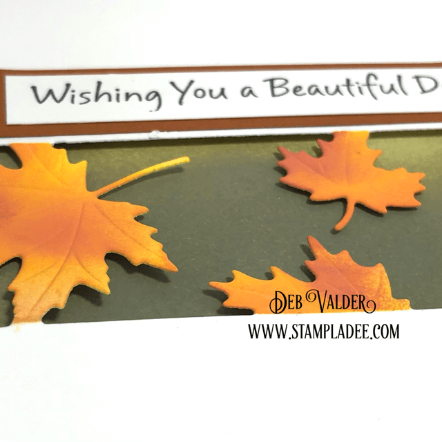 New Maple Leaf Strip Dies Are Amazing and can be found in our Teaspoon of Fun Shoppe.