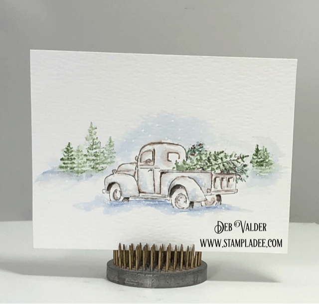 Join Teaspoon of Fun this weekend as we welcome in Stamptember with great deals on Art Impression and other select stamps!  Click Here to see what's on sale this weekend! Our Art Impression Winter Scene products can be found in our Teaspoon of Fun Shop.