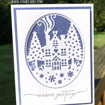 Elegant Christmas Cards  You Can Make in  Minutes with Deb Valder