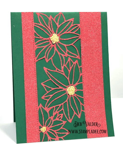 New Poinsettia Strip Dies Are Amazing and can be found in our Teaspoon of Fun Shoppe.