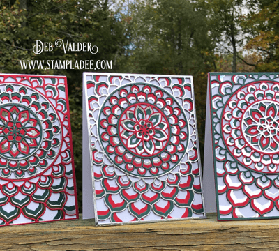 Holiday Kaleidoscope Cards OH WOW – Part 2 with Deb Valder