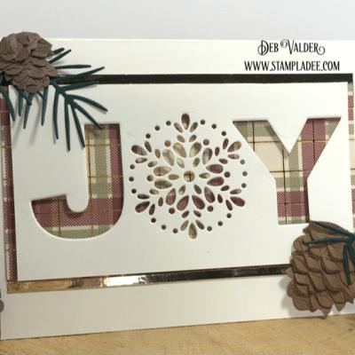 Adirondack Joy Christmas Card with Deb Valder
