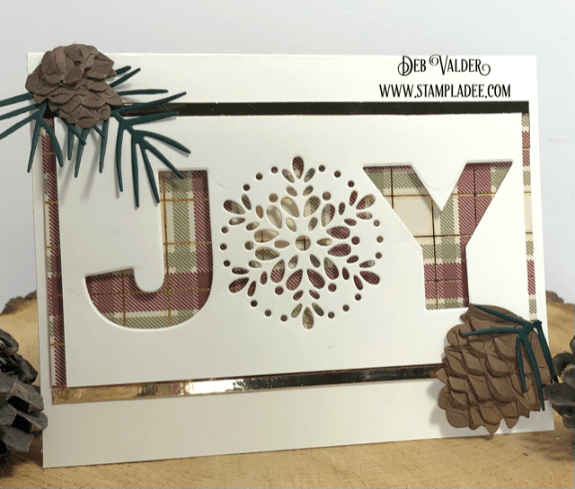 Adirondack Joy Christmas Card is created with products found in our Teaspoon of Fun Shoppe! Take a look.