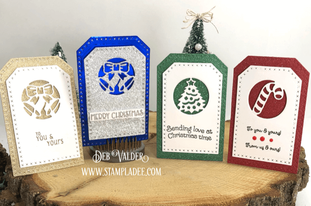 Christmas Cutout Tags for the Holidays. All products can be found in our Teaspoon of Fun Shoppe.
