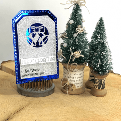 Christmas Cutout Tags for the Holidays with Deb Valder