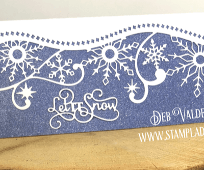 Let's Get Edgy – Elegant Snowflake with Deb Valder