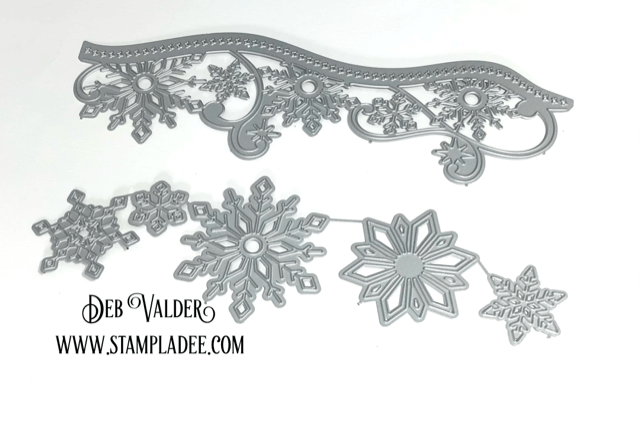Let's Get Edgy - Elegant Snowflake. All products can be found in our Teaspoon of Fun Shoppe.