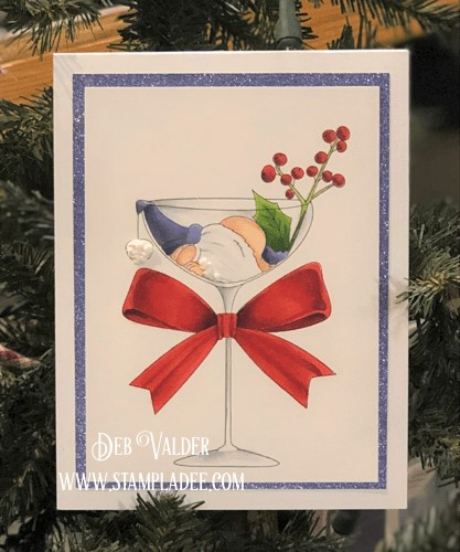 How About a Little Christmas Cheer. One Sip Too Many can be found in our Teaspoon of Fun Shoppe.