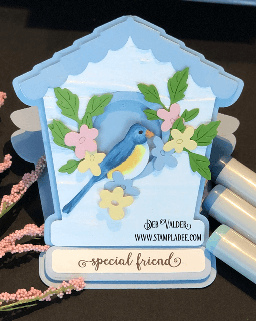 A Really Tweet Deal #18 is a cute pop up easel die. All products can be found in our Teaspoon of Fun Shoppe.