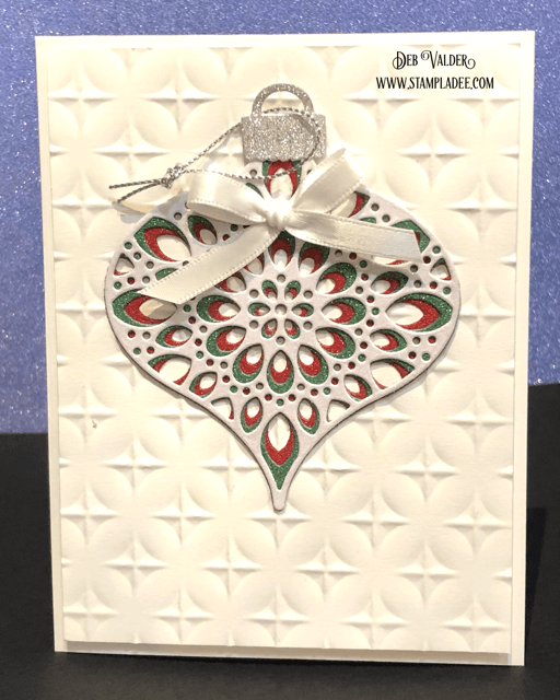 Kaleidoscope Radiant Ornament Die. All products can be found in our Teaspoon of Fun Shop at www.TeaspoonOfFun.com/SHOP