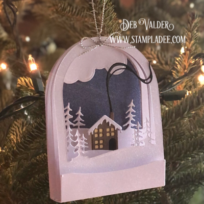 Tutorial on Building the Snow Globe Deal #13 with Deb Valder