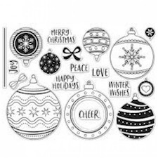 Ornament Infinity Stamp/Die Combos are new in our Teaspoon of Fun Shoppe.