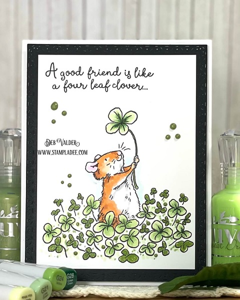A Good Friend is like a four leaf clover. All products can be found in our Teaspoon of Fun Shoppe.