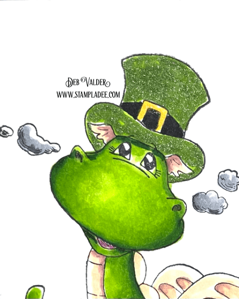 Lucky Little Dragon is Bart on St. Paddy's Day found in our Teaspoon of Fun Shoppe.