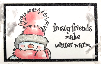 Frosty Friends make winter warm! All products can be found in our Teaspoon of Fun Shoppe.