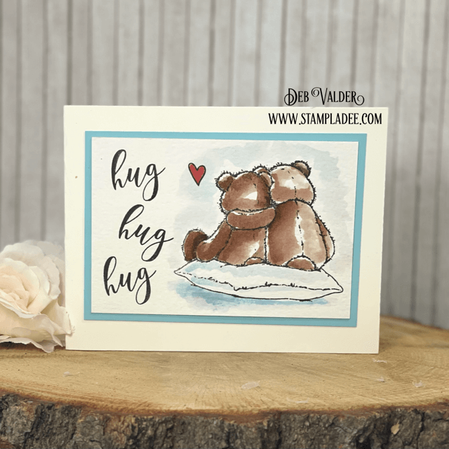 Being There For Me is a huggable card for you. All products can be found in our Teaspoon of Fun Shoppe.