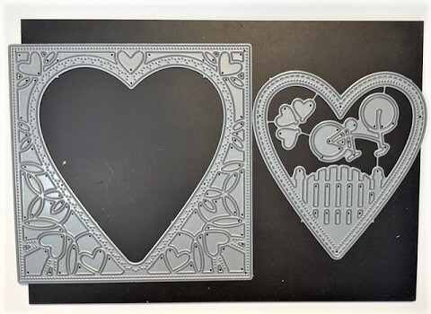 Neighborhood Heart Frame is a fantastic die and can be found in our Teaspoon of Fun Shoppe.
