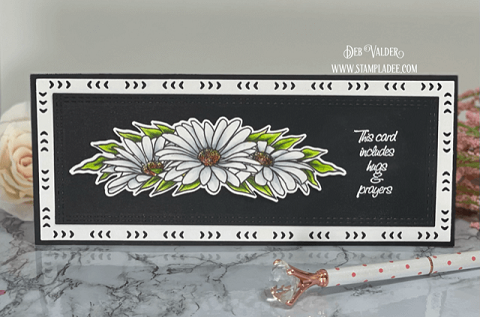 Everything's Coming Up Daisies Slimline/Edger Dies! All products can be found in our Teaspoon of Fun Shoppe.