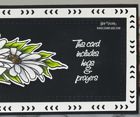 Everything's Coming Up Daisies. Slimline/Edger Dies! All products can be found in our Teaspoon of Fun Shoppe.