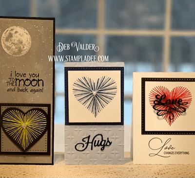 String Art Cards Tutorial with Deb Valder