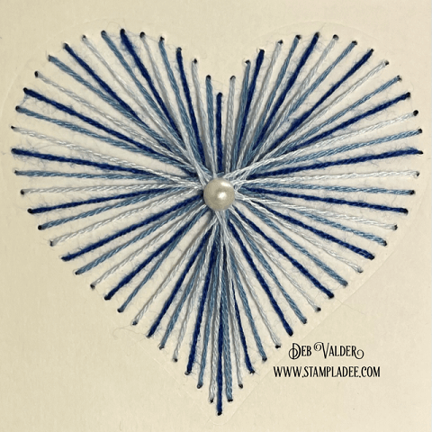 String Art Cards Tutorial All products can be found in our Teaspoon of Fun Shoppe.