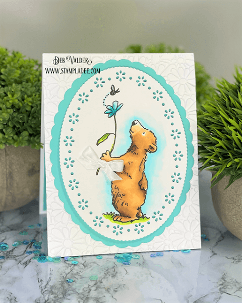 Happy Spring Day. I just can't get enough of this cute little bear. All products can be found in our Teaspoon of Fun Shoppe.