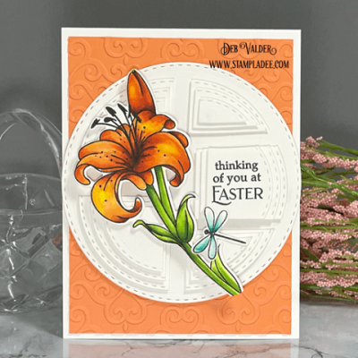 Stacked Die Cut Puzzle Card with Deb Valder