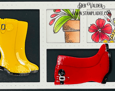 Update on Rain Boots Bouquet with Deb Valder
