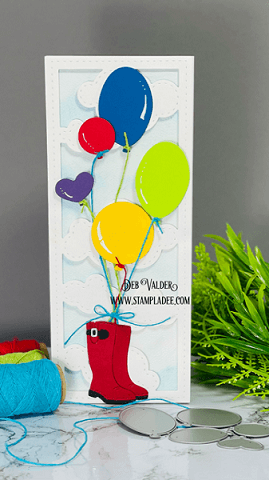 Adventure Is Out There. Rain Boots Bouquet Kit can be found in our Teaspoon of Fun Shoppe.
