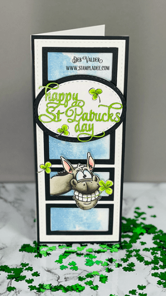 St. Patrick's Wonky Donkey is a cute take on the Wonky Donkey! All products can be found in our Teaspoon of Fun Shoppe.