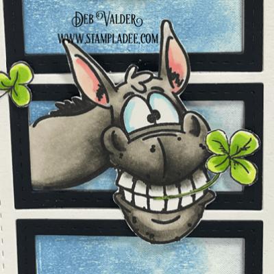 St. Patrick's Wonky Donkey with Deb Valder