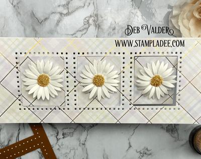 Slimline Pop & Flip Card with Deb Valder