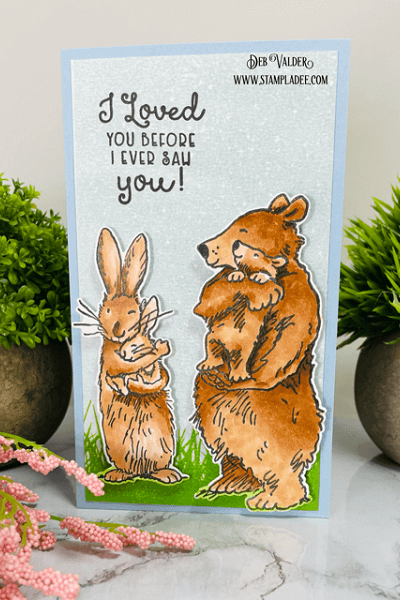 I loved you before I ever saw you! All products can be found in our Teaspoon of Fun Shoppe.