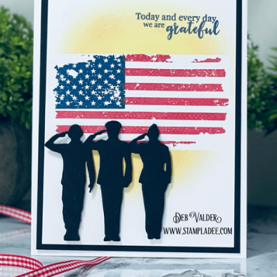 Honor Respect Grateful Military with Deb Valder