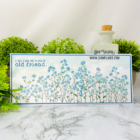 A Meadow of Wildflowers. All products can be found in our Teaspoon of Fun Shoppe.