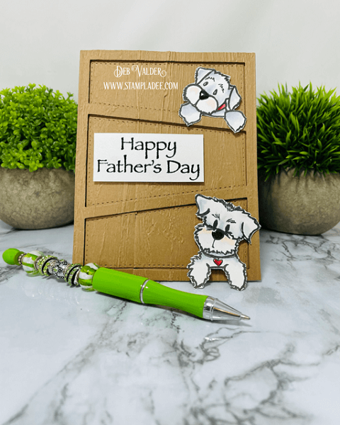 Paw-Fect Father's Day combo kit. All products can be found in our Teaspoon of Fun Shoppe. at www.TeaspoonOfFun.com/SHOP