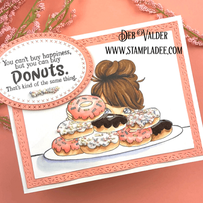 National Donut Day Card with Deb Valder