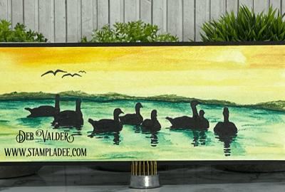 Watercolor Wash Background Technique with Deb Valder