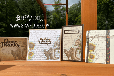 Signs of Autumn are Coming with Deb Valder