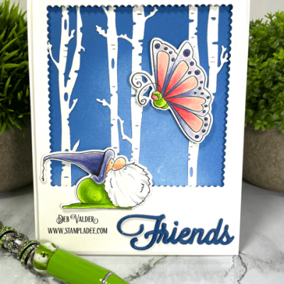You Gnomie Little Butterfly with Deb Valder