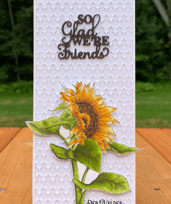 The Copic Sunflower with Deb Valder