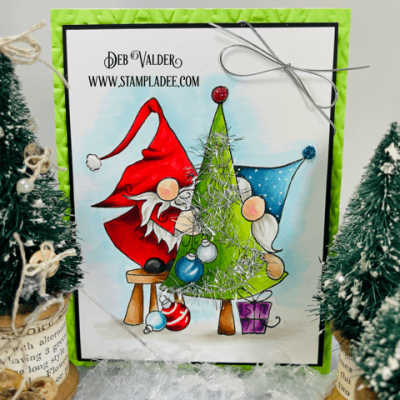 Is Your Gnome Tinsel Tangled with Deb Valder
