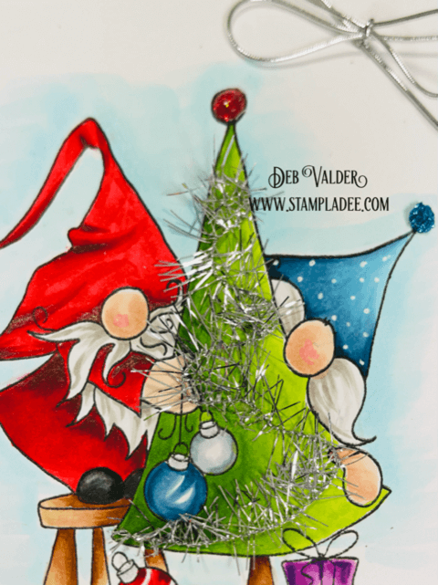 Is Your Gnome Tinsel Tangled. All products can be found in our Teaspoon of Fun Shop at www.TeaspoonOfFun.comSHOP