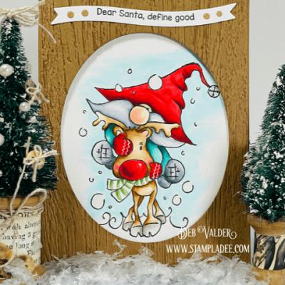 Giddy Up Reindeer with Deb Valder
